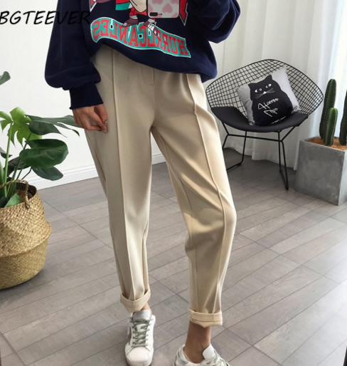 Зимние утеплённые женские брюки купить на Алиэкспресс