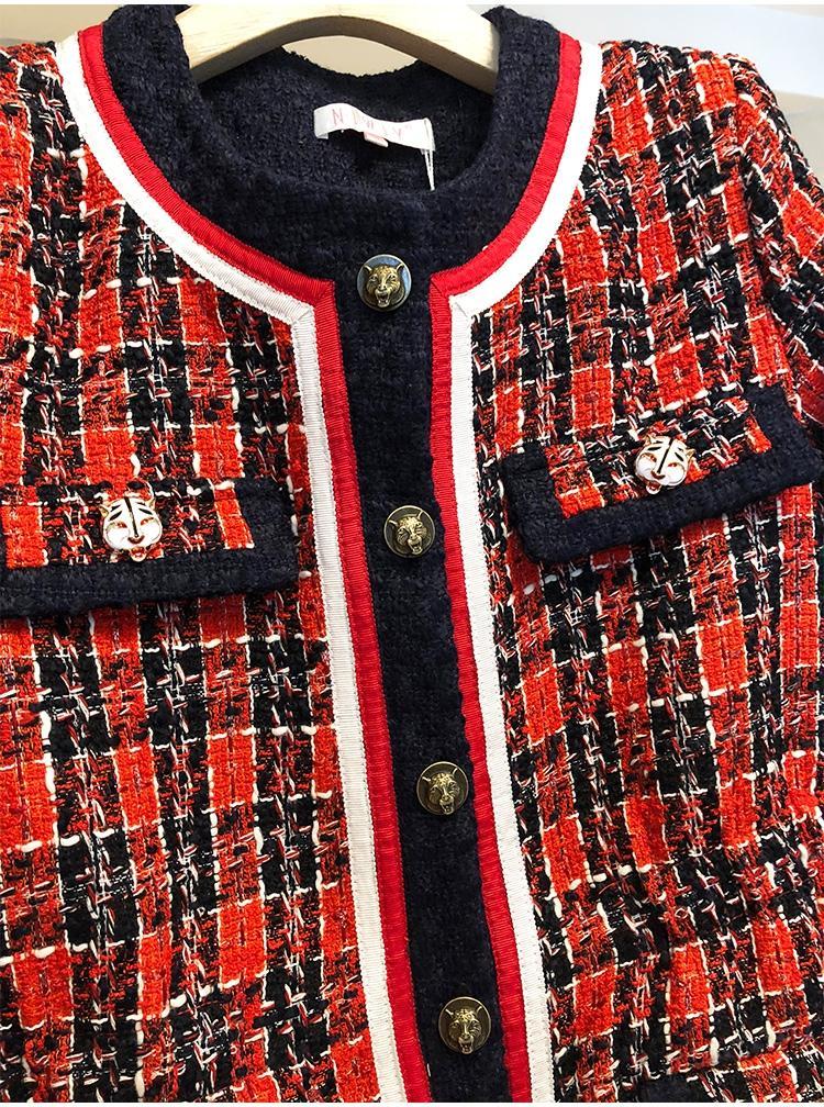 Твидовый женский пиджак Шанель купить на Алиэкспресс