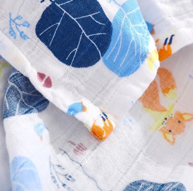 Муслиновое одеяло для новорожденного на Алиэкспресс
