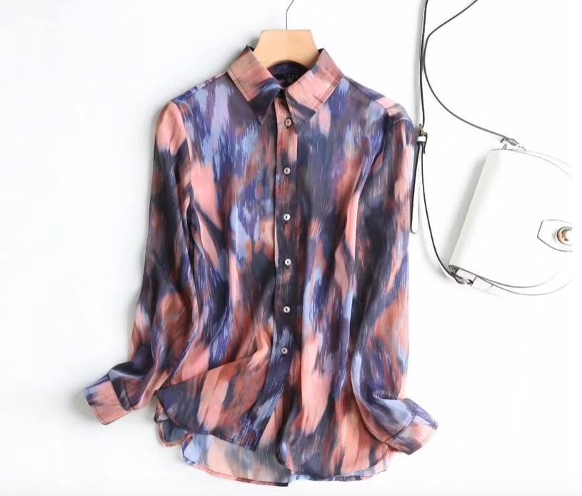 Женская блуза Massimo Dutti на Aliexpress