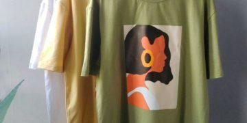 Женская футболка с принтом на Алиэкспресс