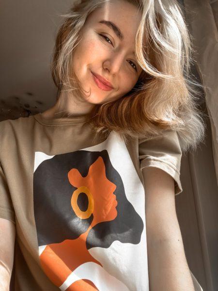 Женские футболки на Алиэкспресс