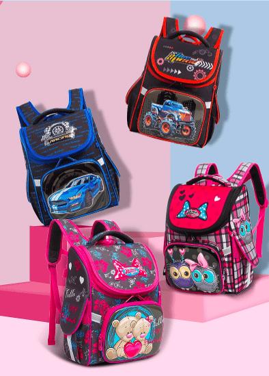 Школьный рюкзак для для девочек и мальчиков на Алиэкспресс