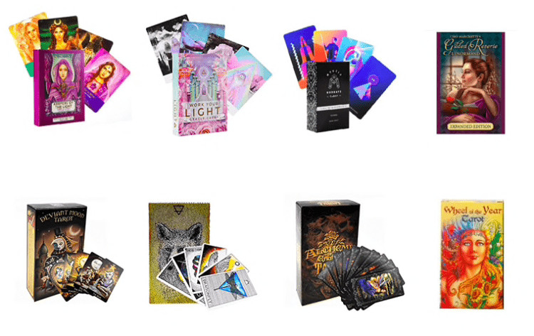 Таро карты Oracle с руководством, Divination Fate на Алиэкспресс