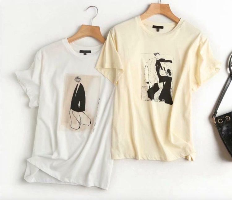 Женская хлопковая футболка Массимо Дуттина Алиэкспресс