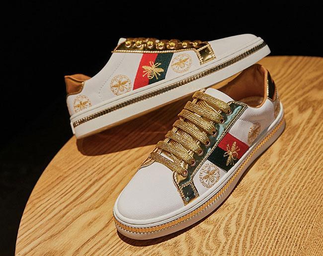 Женские кросовки кеды Гуччи(Gucci) купить на Алиэкспресс