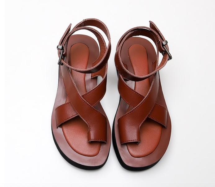 Женские сандали на плоской платформе Массимо Дутти на Алиэкспресс