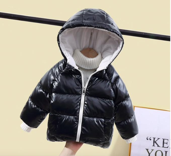 Стильная тёплая куртка для мальчиков и девочек купить на Aliexpress