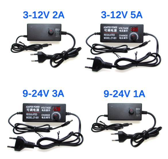 Регулируемый источник питания переменного тока в постоянный ток 3 в 5 в 6 в 9 в 12 В 15 в 18 в 24 В 1A 2A 5A адаптер питания Универсальный адаптер 220 В до 12 В купить на Алиэкспресс