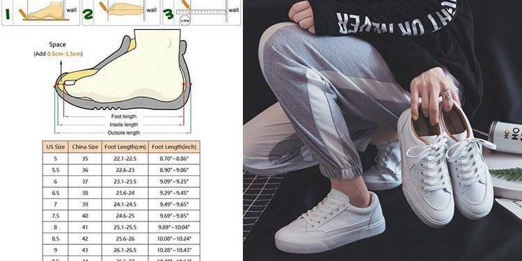 Таблица размеров одежды и обуви на Алиэксресс