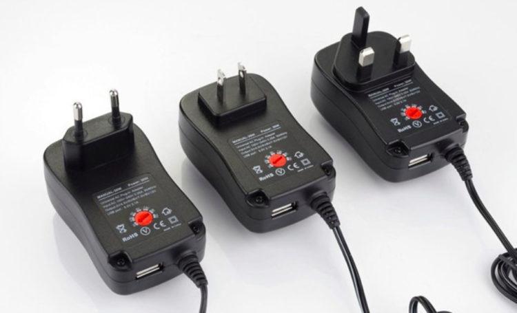 Универсальный адаптер питания для светодиодных ламп, 3 в, 4,5 В, 5 В, 6 в, 7,5 В, 9 В, 12 В, 2 А, 2,5 А, AC/DC купить на Алиэкспресс