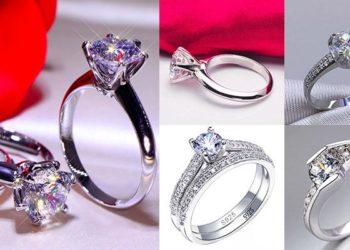 Женские кольца Серебро 925 пробы на Алиэкспресс