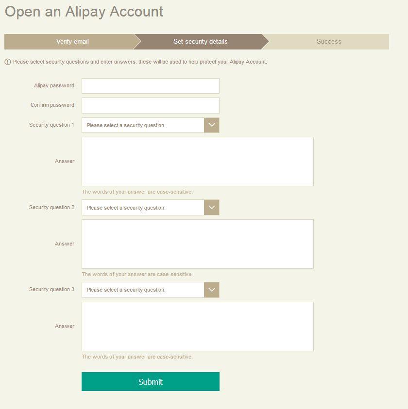 Закройте это окно и снова откройте веб-страницу Alipay