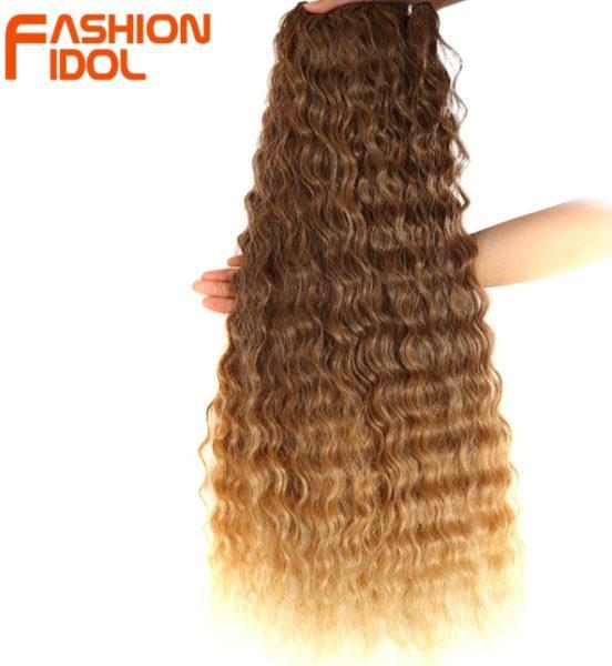 Накладные пряди волос с глубокой волной с эффектом омбрекупить на Алиэкспресс