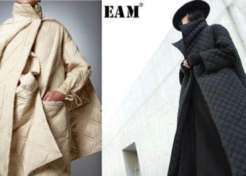 Женское стеганное пальто купить на Алиэкспресс