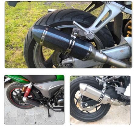 3 типа глушителей для байков и скутеров