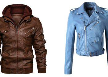 Кожаные куртки мужские и женские косухи и дубленки