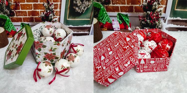 Новогодняя распродажа на AliExpress - Новогодние шары мягкие на ёлку