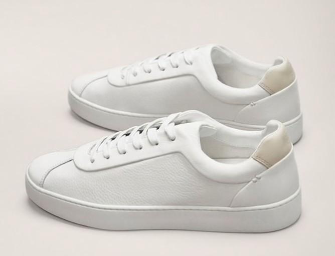 Кроссовки-кеды женские Massimo Dutti из натуральной кожи, белые купить на Алиэкспресс