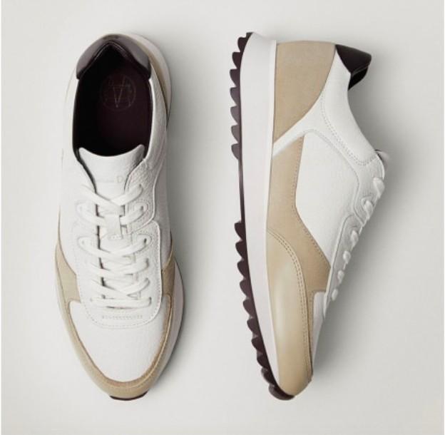Кроссовки Massimo Dutti из натульнальной кожи купить на Алиэкспресс