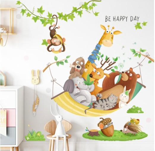 Декоративные наклейки на стену в детскуюкомнату купить на Алиэкспресс