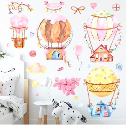 Интерьерные наклейки на стену в детскуюкомнату купить на Алиэкспресс