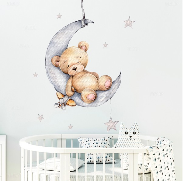 Наклейки на стену для детской комнаты на Алиэкспресс