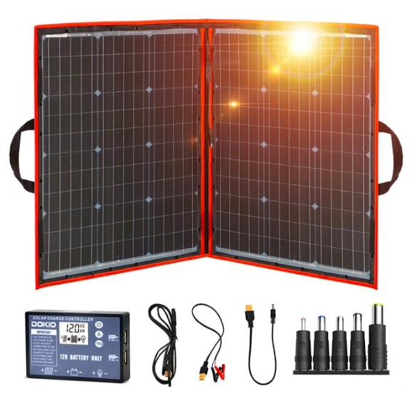 Складная солнечная панель Dokioкупить на Алиэкспресс