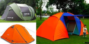Туристические палатки на Алиэкспресс