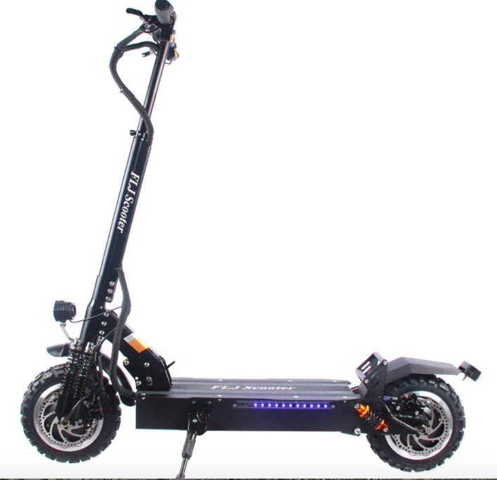 Электрический скутер с двойным моторомна Алиэкспресс