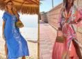 Летние женские туники на Алиэкспресс