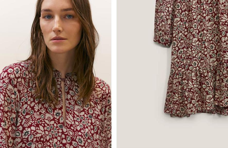 Платье с цветочным принтом Массимо Дутти купить на Алиэкспресс