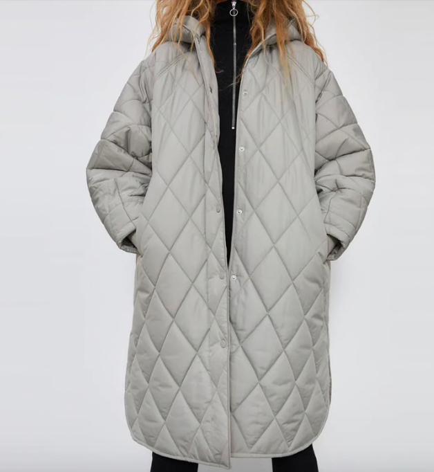 Топ 5 зимних курток и пальто - Женская парка с капюшоном со скидкой 50%