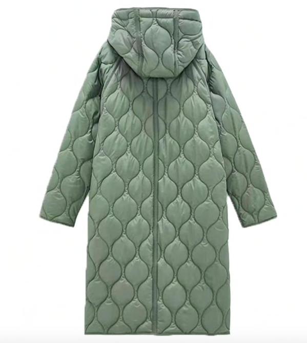 Топ 5 зимних курток и пальто ZARA с капюшоном на Алиэкспресс