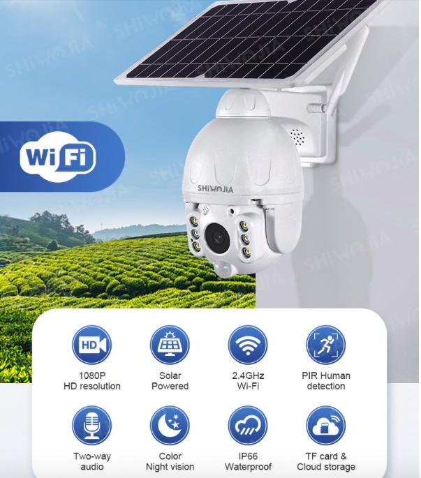 Беспроводная камера видеонаблюдения на Алиэкспресс