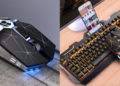 Беспроводные и проводные игровые мишки и механические клавиатуры на Aliexpress