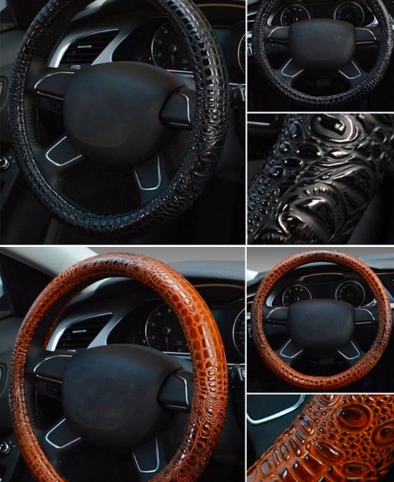 Чехол на руль автомобиля на Алиэкспресс