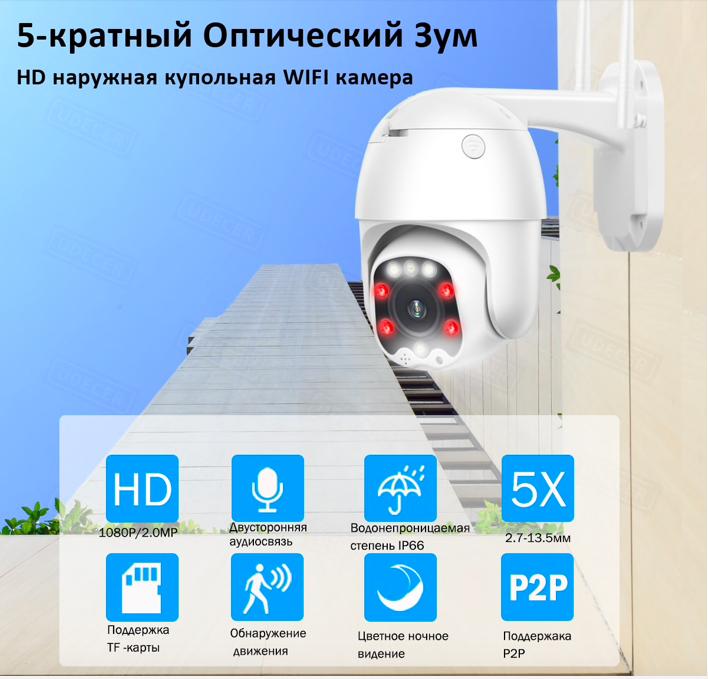 Камера наружного видеонаблюдения купить на Алиэкспресс