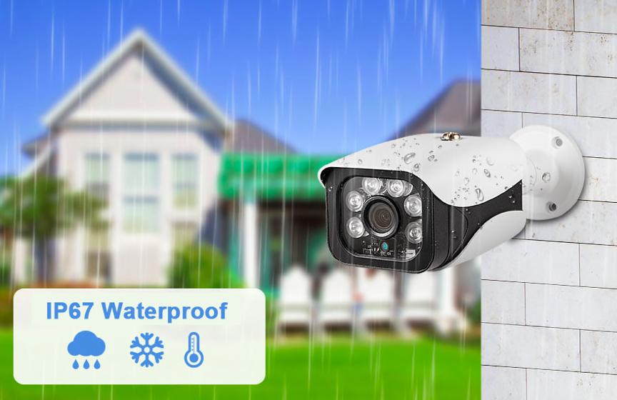 Камера видеонаблюдения уличная 8МП 4К POE NVR на Алиэкспресс