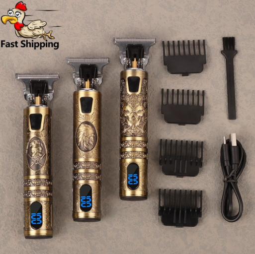 Машинка аккумуляторная T-Outliner для стрижки волос для мужчин
